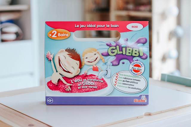 un bac sensoriel avec du Glibbi