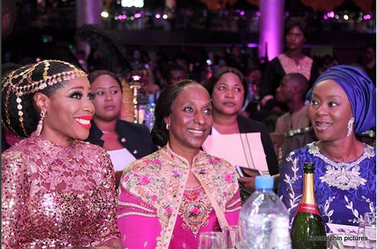 Dolapo-Osinbajo-Toyin-Saraki-Mo-Abudu-the-Premiere-of-The-Wedding-Party-2-Destination-Dubai