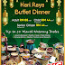 REDEEM 888 AIR ASIA BIG POINTS WHEN YOU ENJOY HARI RAYA BUFFET DINNER AT GRAND ION DELEMEN HOTEL, GENTING HIGHLANDS