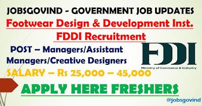 FDDI Recruitment 2021
