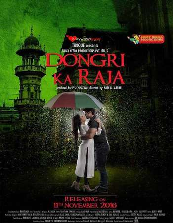 Poster Of Dongri Ka Raja 2016 Hindi 700MB WEBRip  Watch Online Free Download world4ufree.org