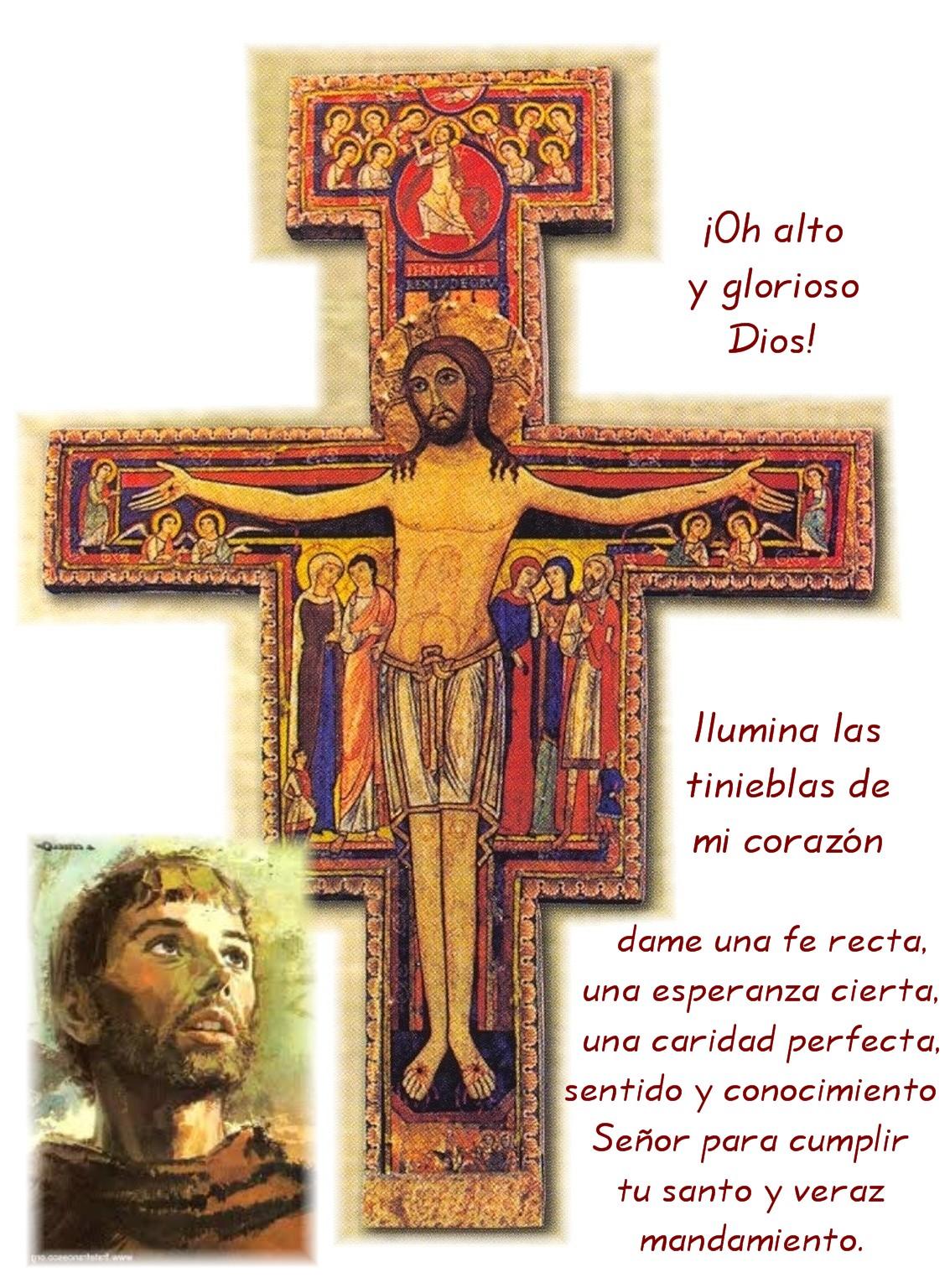 Pequeno De Asis San La El De Francisco Oracion