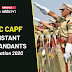 UPSC CAPF Assistant Commandants Notification 2020