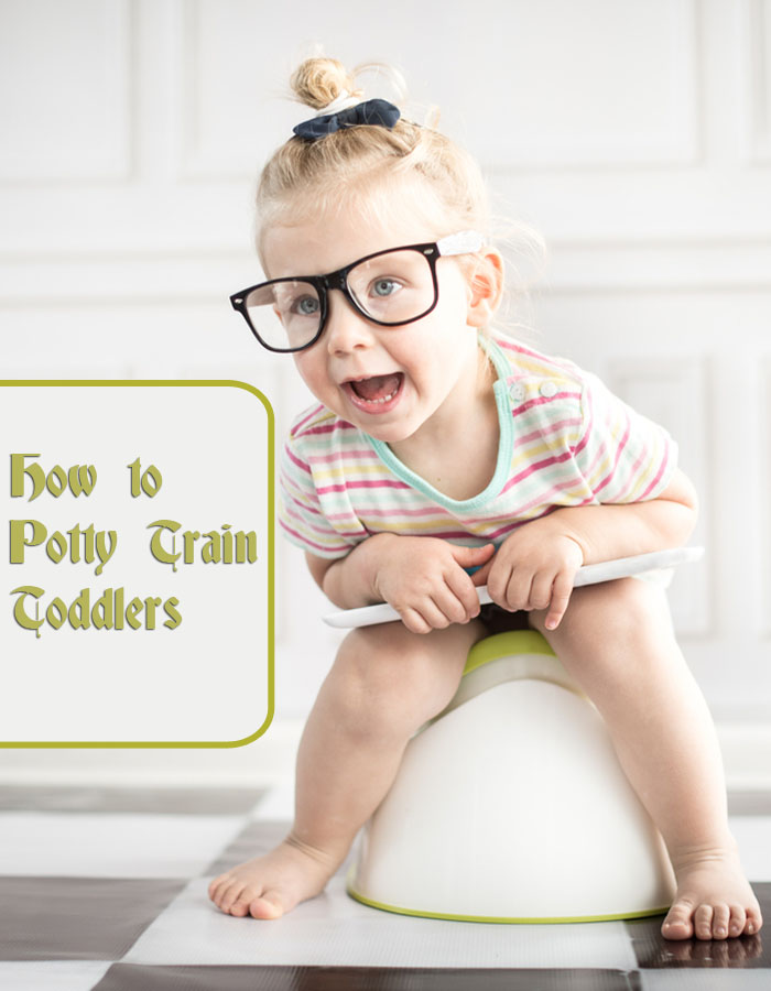 How to Potty Train Toddlers