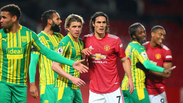 Man United forward Cavani