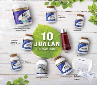 Vivix, omega, vitamin c, esp, collagen, ostematrix, vitamin E, alfalfa,