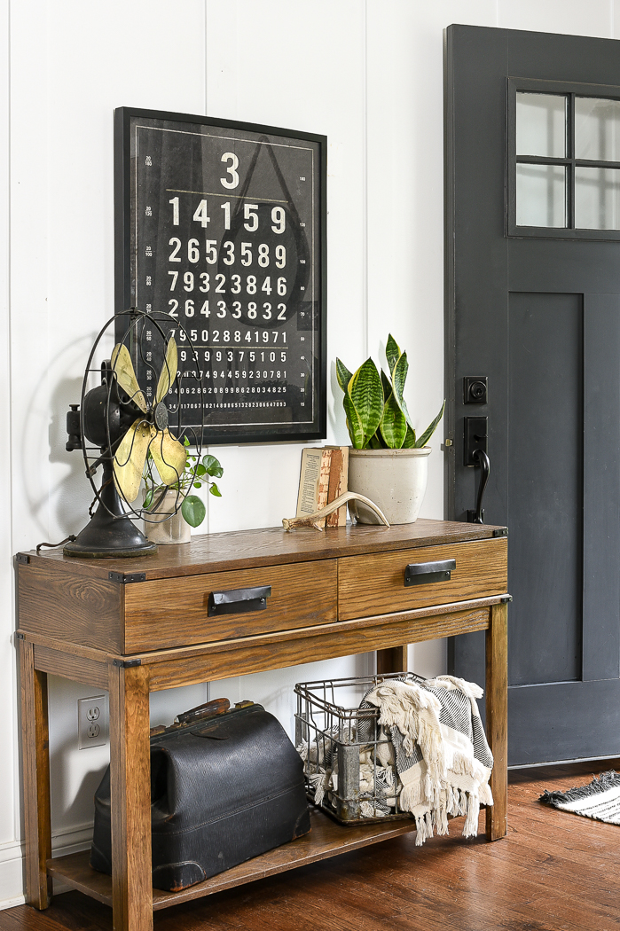 Simple and neutral fall entry