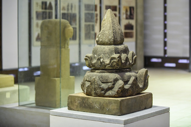 1,300-year-old Mukhalinga statue in My Son
