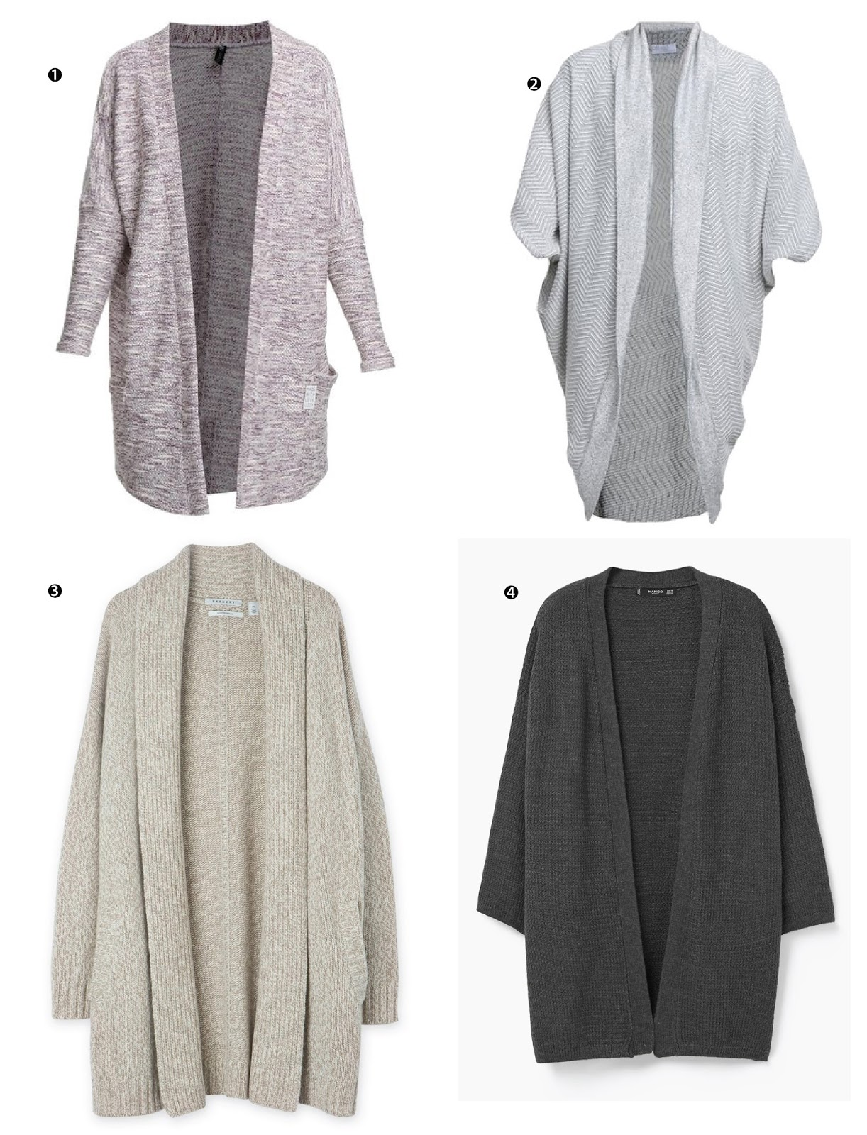 Perfect Cardigans for winter