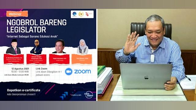 HBK sapa 300 konstituen di Pulau Lombok lewat Webinar