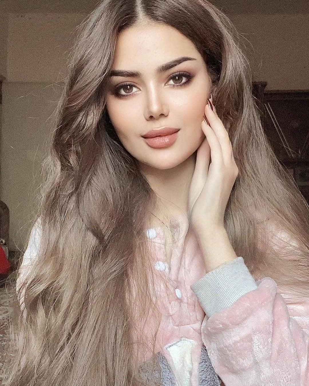 Beautiful Portrait Girl Face