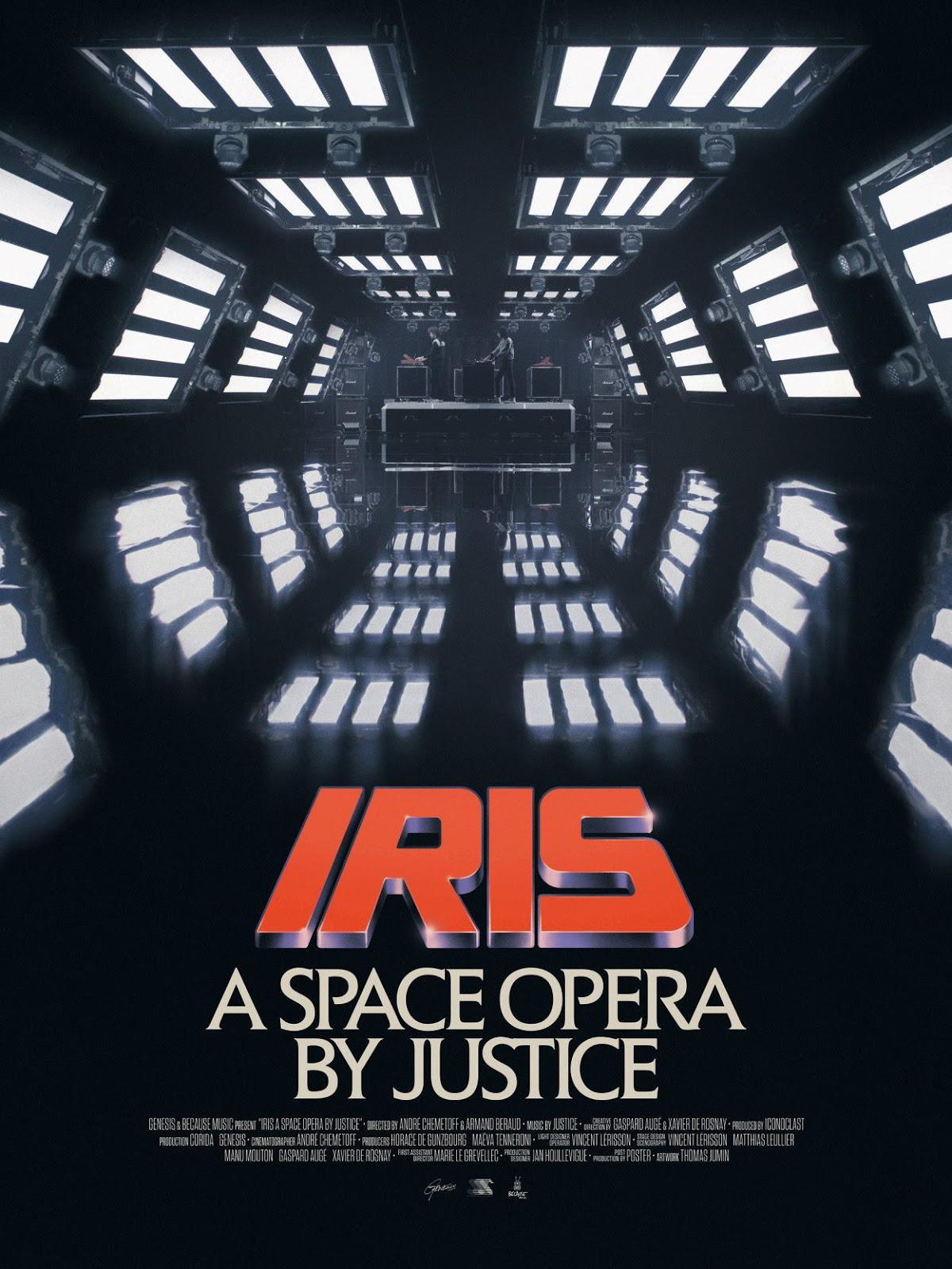 Justice kündigt eine Space Opera an | IRIS - A Space Opera by Justice