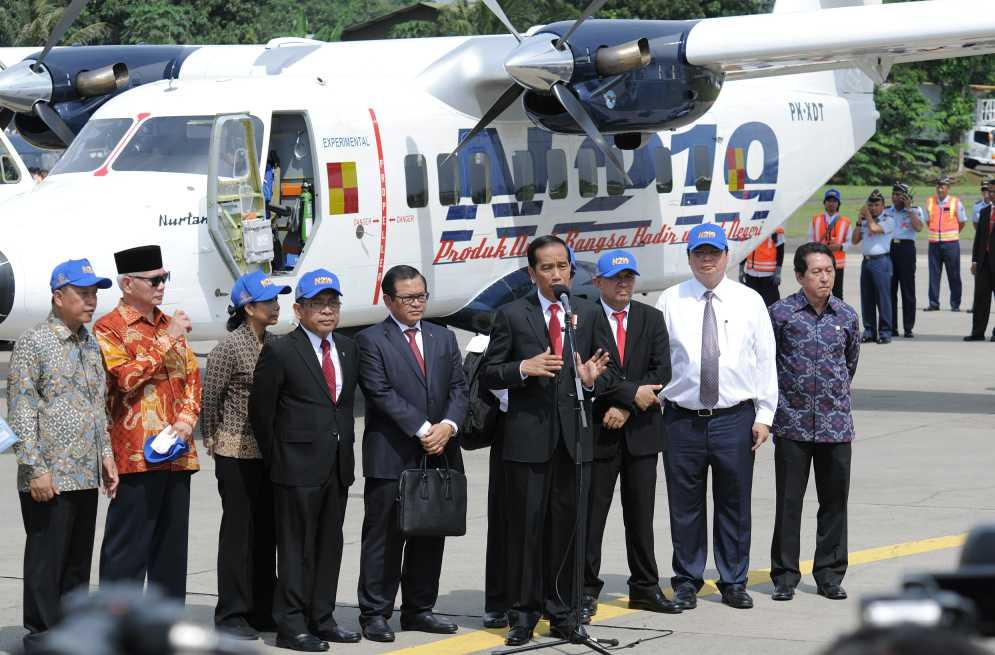 Pesawat buatan Indonesia N219 Diproduksi Massal 2019