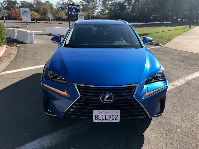 Front view of 2020 Lexus NX 300h