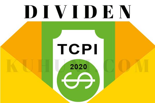 Dividen Tunai TCPI Tahun 2020
