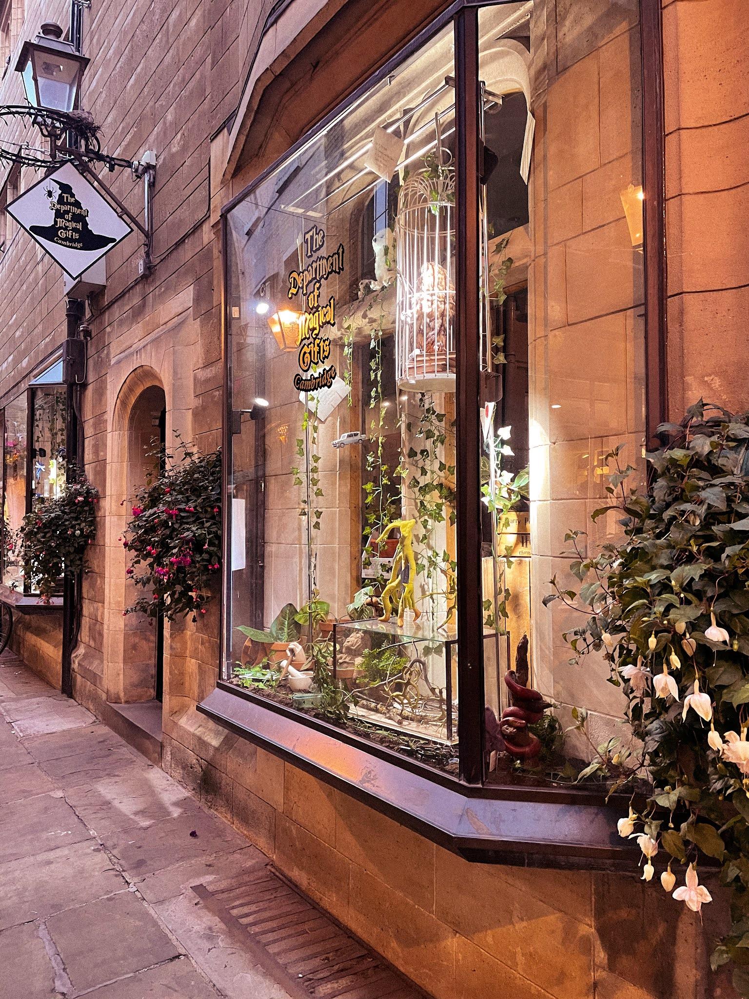 Cambridge Harry Potter Shop