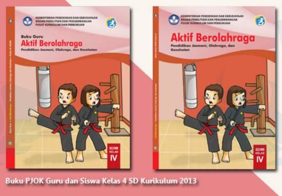 Buku PJOK Kelas 4 Kurikulum 2013 Revisi 2018