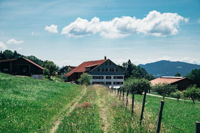 Wandertrilogie Allgäu  Etappe 38 Weiler-Scheidegg-Lindenberg  Wasserläufer Route 07