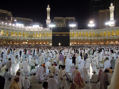 Tawaf after isya' prayer
