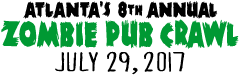 Atlanta's Zombie Pub Crawl