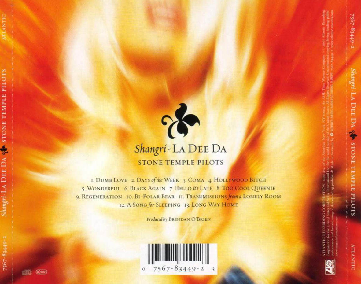 If the blog refuse to FLAC...: Stone Temple Pilots ...