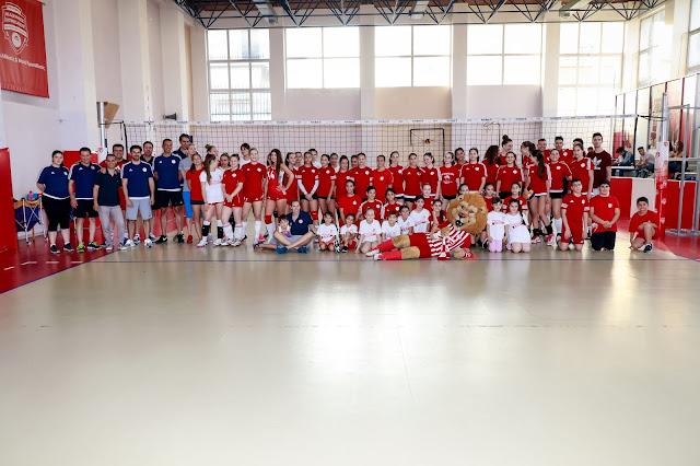 Η γιορτή της Ακαδημίας Βόλεϊ του Ολυμπιακού!