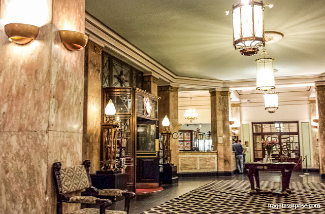 Lobby do Hotel Adelphi, Liverpool