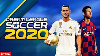 تحميل لعبة دريم ليج 2020 Dream League Soccer كامل APK+DATA+OBB
