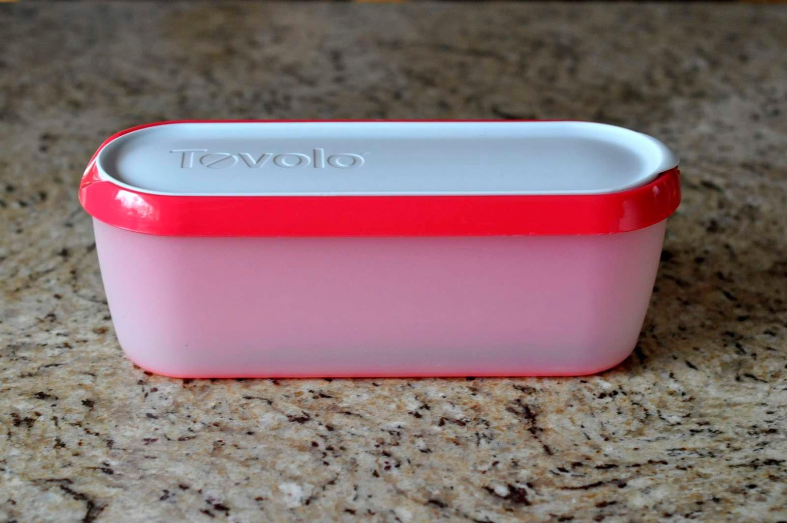 Tovolo Glide-A-Scoop Ice Cream Tub   Taste As You Go