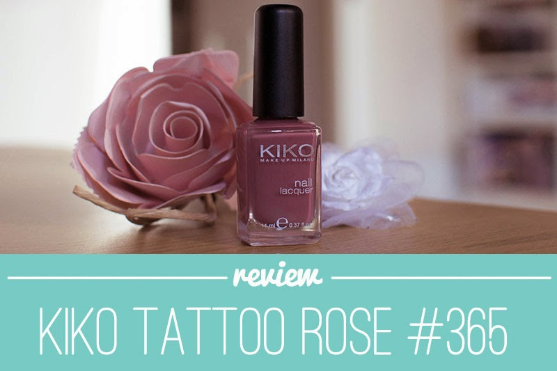 Flavia Beauty Reviews Kiko Nail Polish Review In 365 Tattoo Rose