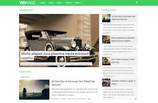 Viomagz template blogger terbaik 2019