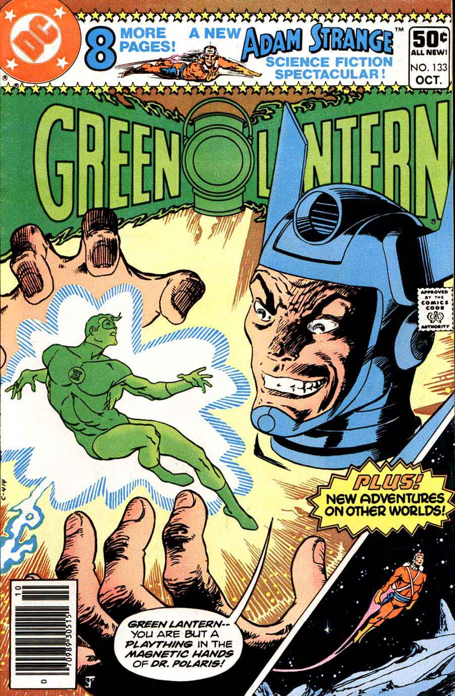 Green Lantern v2 #133 dc comic book cover art by Jim Starlin
