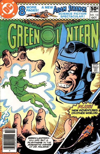 Green Lantern v2 #133 dc comic book cover art by Jim Starlin