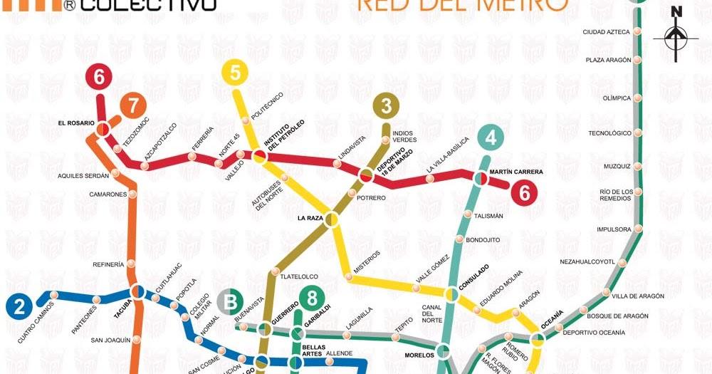 image Metro df al subir escalera