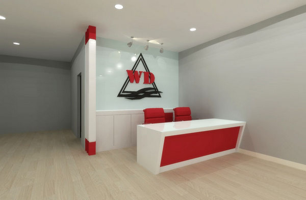 counter table design for office