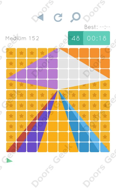 Cheats, Walkthrough for Blocks and Shapes Medium Level 152