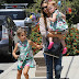 Jessica Alba : girls weekend alongside its two matching dolls!