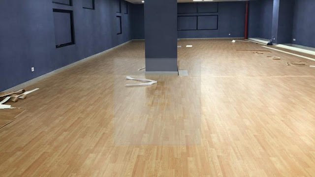 Karpet Vinyl Alas Tenis Meja Pingpong