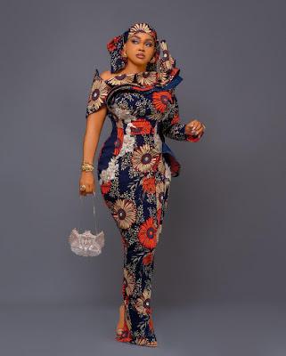 Mercy Aigbe Ankara Styles