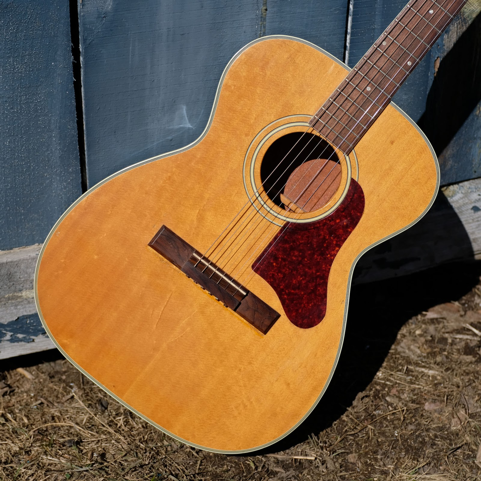 Jake Wildwood 1960s Harmony H1203 Sovereign 000 Size Flattop Guitar