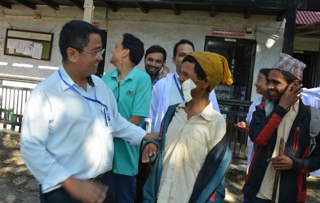 team of rapti eye hospital dang