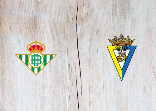 Real Betis vs Cádiz -Highlights 23 December 2020