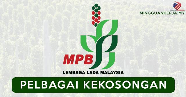 Minima PMR / PT3 Layak Memohon Pelbagai Jawatan Kosong Terkini Di Lembaga Lada Malaysia