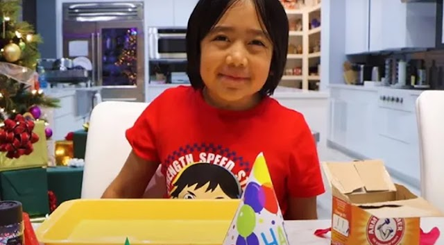 Nine-year-old set a world record by earning $29.5 Million (217 Crore) from YouTube