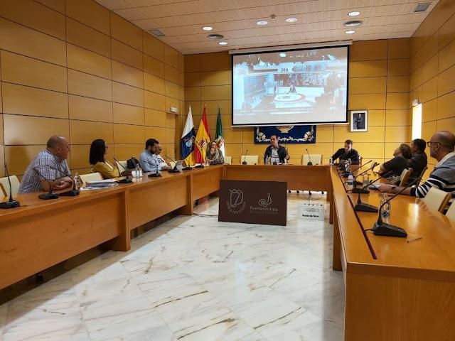 reunion medidas coronavirus cab FVA - Cabildo de Fuerteventura activará el Plan Insular de Emergencias tras la Declaración de Alerta del Gobierno central