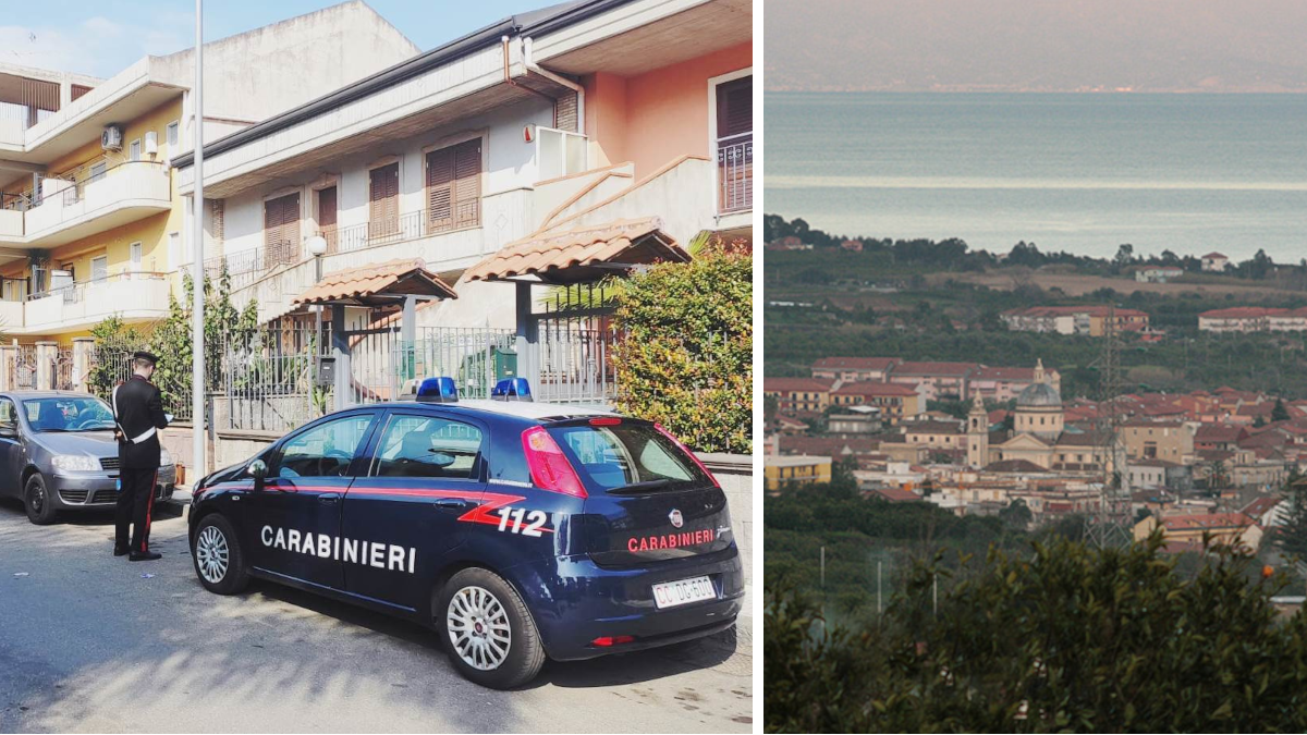 Mascali furto tv minorenne Carabinieri