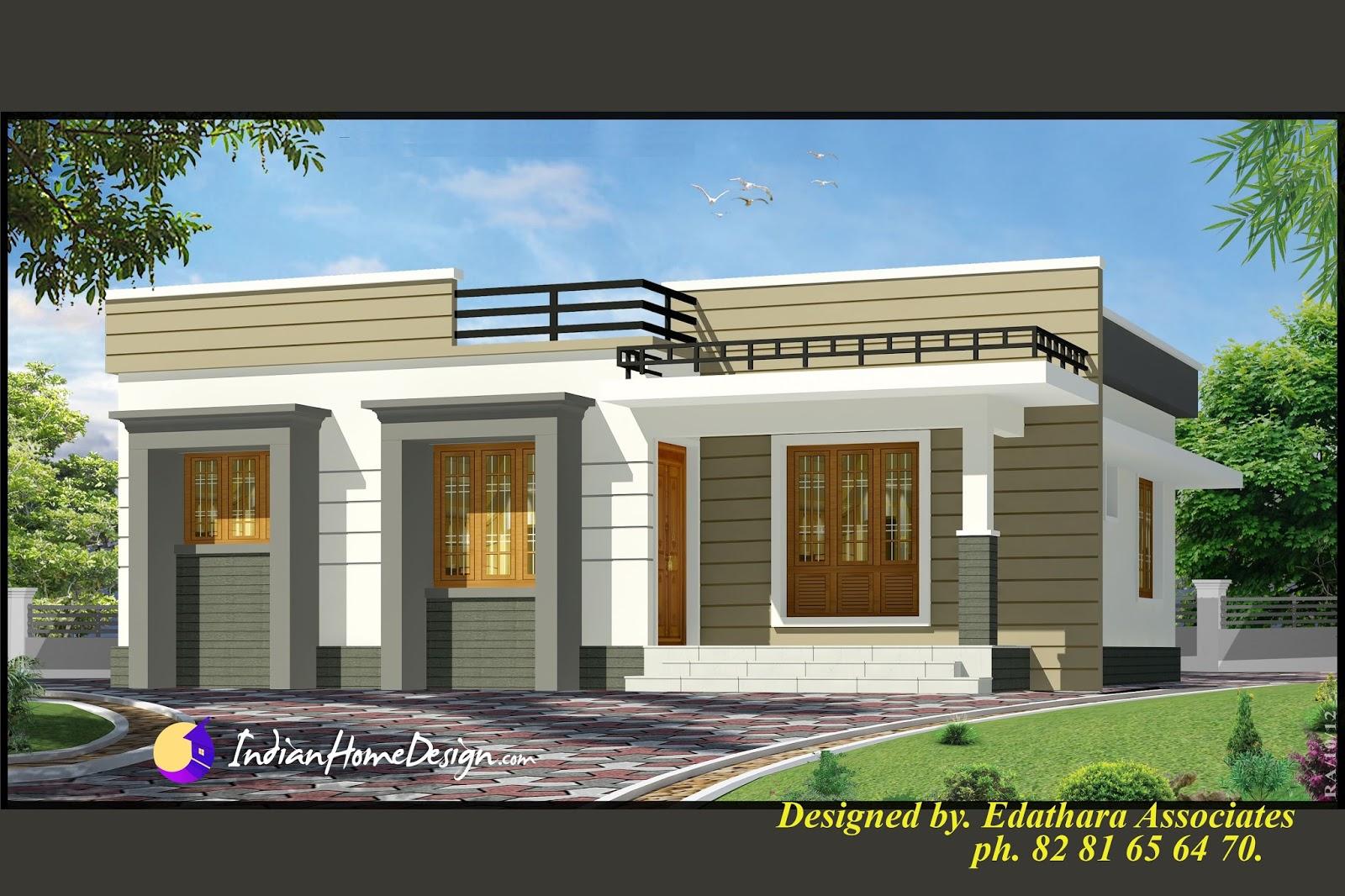 Single Floor Kerala Home design - Indian Home design - Free house ...