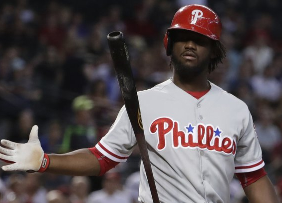 Odubel Herrera back in the lineup for the Phillies