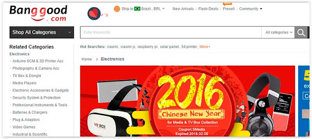 banggood Chinese Sites for Buying the Wholesale Price
