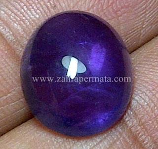 Batu Permata Kecubung Ungu Kalimantan - ZP 533